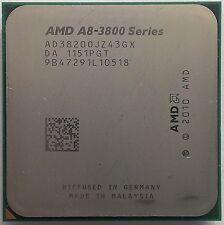 AMD a8-Series a8 3820 Quad Core 4x 2.5 GHz (2,8ghz Turbo) fm1 ad3820ojz43gx