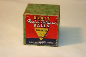 Vintage HYATT Pocket Billiard Ball  With Box