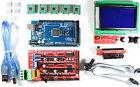 RAMPS 1.4 Set / Kit para RepRap 3d Impresión - MEGA 2560 ,5 x A4988,12864 LCD