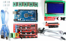 RAMPS 1.4 Set/Kit for RepRap 3D Printer Mega 2560, 5x A4988, 12864 LCD Arduino