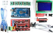 Ramps 14 Setkit For Reprap 3d Printer Mega 2560 5x A4988 12864 Lcd Arduino