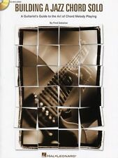 Fred Sokolow Building A Jazz Chord Solo Learn Play Guitar TAB Music Book & CD