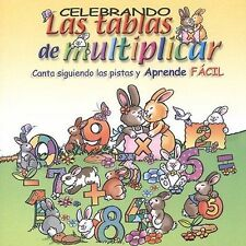 Various Artists : Tablas De Multiplicar CD