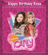 iCarly Sam 1/4 sheet Edible image cake topper fast shipping