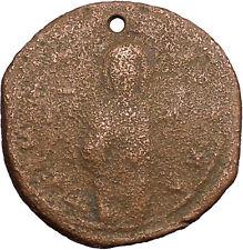 JESUS CHRIST Class C Anonymous Ancient 1034AD Byzantine Follis Coin  i39444