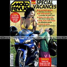 MOTO REVUE N°3339 GUZZI V10 CENTAURO KAWASAKI ZZR 1100 BMW R1200 C BOL D'OR 1998