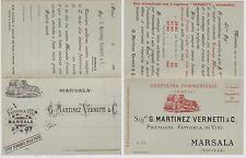 #MARSALA 189_  FATTORIA VINI G. MARTINEZ VERNETTI & C.- cart. doppia