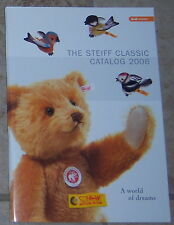 Steiff Toy Catalogs Covering Years 1999-2006 New & Unused