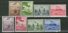 Yugoslavia kingdom 1937 ☀ Airplanes - Complete set Mi 340-347 ☀ MNH**