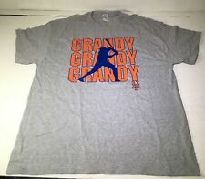 Grandy New York Mets Gray Gildan Shirt Size XL