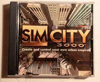 Sim City 3000 PC Game  CD Rom - Tested Simulation. Urban Empire Game