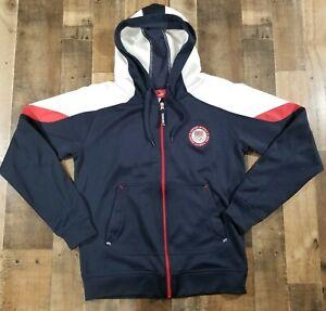 Team Apparel 2012 Team USA Olympics Youth Jacket Large United States Hoodie Zip