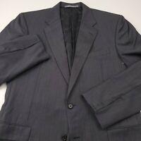 $249 Hickey Freeman Mens Madison Wool Sport Coat Suit Separate Jacket 42L Gray