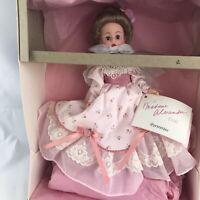 """Vintage Madame Alexander Doll 10"""" Peter Pan Mrs. Darling Cissette Portrette Pink"""