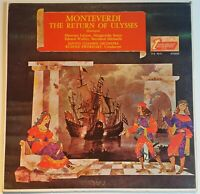 Monteverdi The Return Of Ulysses Excerpts Turnabout of VOX Stereo TVS 34131