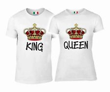 DUE MAGLIETTE YOU & ME - LOVE  KING QUEEN