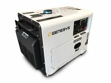 DIESEL GENERATOR 6 kVA SINGLE PHASE SILENCED *FREE DELIVERY*