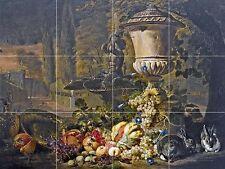 A Still Life Of Fruit Tile Mural Kitchen Bathroom Backsplash Ceramic 17x12.75