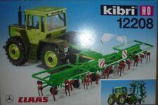tractor 1/87 KIBRI 12208 KIT MERCEDES BENZ TRAC  con CLAAS VOTTO 740 NEW BOX