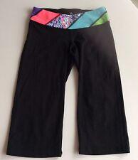 Girl's Ivivva By Lululemon Crop Capris Yoga Dance Athletic Pant Child's Size 10