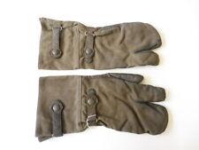 Paar Kradmelder Handschuhe Wehrmacht