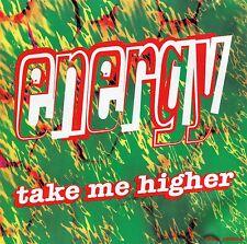 ENERGY Take Me Higher (Single) -CD 2 tracks: Radio Mix & Club Mix-VG SHIPS FREE!