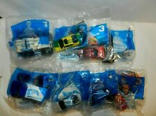 2001 Mcdonalds Hot Wheels Complete Set Lot Of 8-Happy Meal Toy