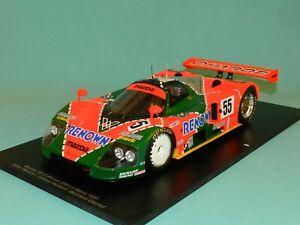Spark 1/18 Mazda 787 B Winner 24H Le Mans 1991 Weidler/Herbert/Gachot MIB