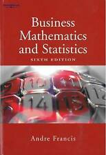 NEW Business Mathematics and Statistics by Andre Francis