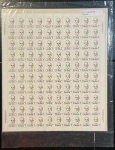 Post office sealed full sheet SC#592 7c Louis St. Laurent