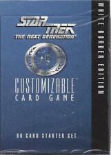 Star Trek CCG Starter Deck  Factory Sealed  Unlimited White Border Starter