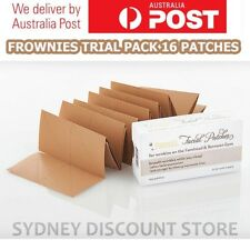 FROWNIES Wrinkle Remover Facial Pads Forehead+Between Eyes TRIAL PACK 16 PATCHES