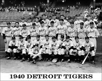 1940 Detroit Tigers Photo 8X10 - Hank Greenberg Gehringer  Buy Any 2 Get 1 FREE
