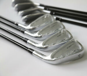 Eisensatz 4-11 HONMA TW-World 4, TRUE TEMPER HIGH PERFORMANCE GRAPHITE 65gr RH-S