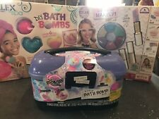 LOT Girl's Bath Bomb and Makeup Making Kits NEW Alex Spa DIY Bath Bombs MC2