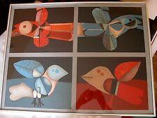 Josep M Garcia Llort S/N L/E SERIGRAPH KULICKE FRAMED ART PRINT, SIGNED 67/260
