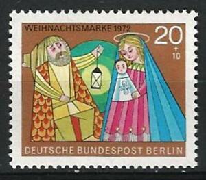 Germany Berlin 1972 MNH - Christmas The Holy Family Mi-441 SG-B428