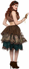 Adult Steampunk Bustle Black Pin On Layered Gothic Victorian Adult One Size