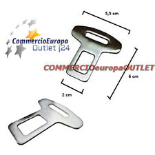 SEAT BELT ALARM BUCKLE KEY CLIP SAFETY CLASP STOP MERCEDES BMW FORD AUDI ROVER