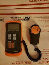 LX1330B Digital Illuminance Meter Light Tester 0 - 200,000 Lux Luxmeter used