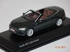 Audi A5 Cabrio 2017 grün 1:43 Audi 5011705333 neu & OVP