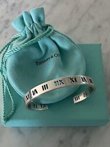 Tiffany & Co Sterling Silver Atlas Cuff Bracelet