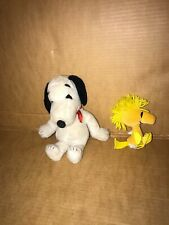 Vintage Peanuts Woodstock and Snoopy Plush United Feature Syndicate 1968-1972
