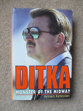 Ditka Monster of the Midway signed Mike Ditka First Edition First Printing 1992