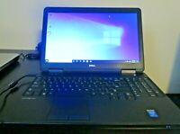 Dell Latitude E5540 Intel I5 4310U @ 2.00 GHz Windows 10 Pro Terabyte HDD