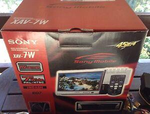 FULL TV/DVD SET Sony XAV-7W Media Center + XT-P50V TV Tunner + Macrom MDVD9900