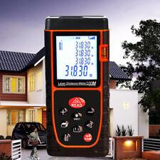 Laser Entfernungsmesser Messgerät Distanzmesser Ultraschall Abstandsmesser 100m