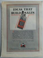 1929 Vlchek all-purpose punch and chisel set vintage tool ad