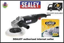 Sealey Sander/Polisher 170mm 6-Speed Sanding 1300W/230V MS900PS, FREE SGM14 PAD