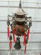 national Elegant and unique Tibetan brass dragon Buddha bell Passepartout money